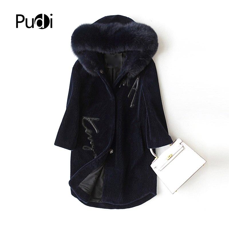 babe66b9b5 PUDI-A17001-femmes -hiver-chaud-laine-v-ritable-fourrure-V-ritable-renard-col-de-fourrure-capuche.jpg