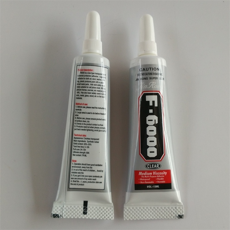 50Pcs Lot 15ml F6000 Glue For Cell Phone Adhesive Epoxy Resin Diy Crystals Rhinestones Wholesale Free
