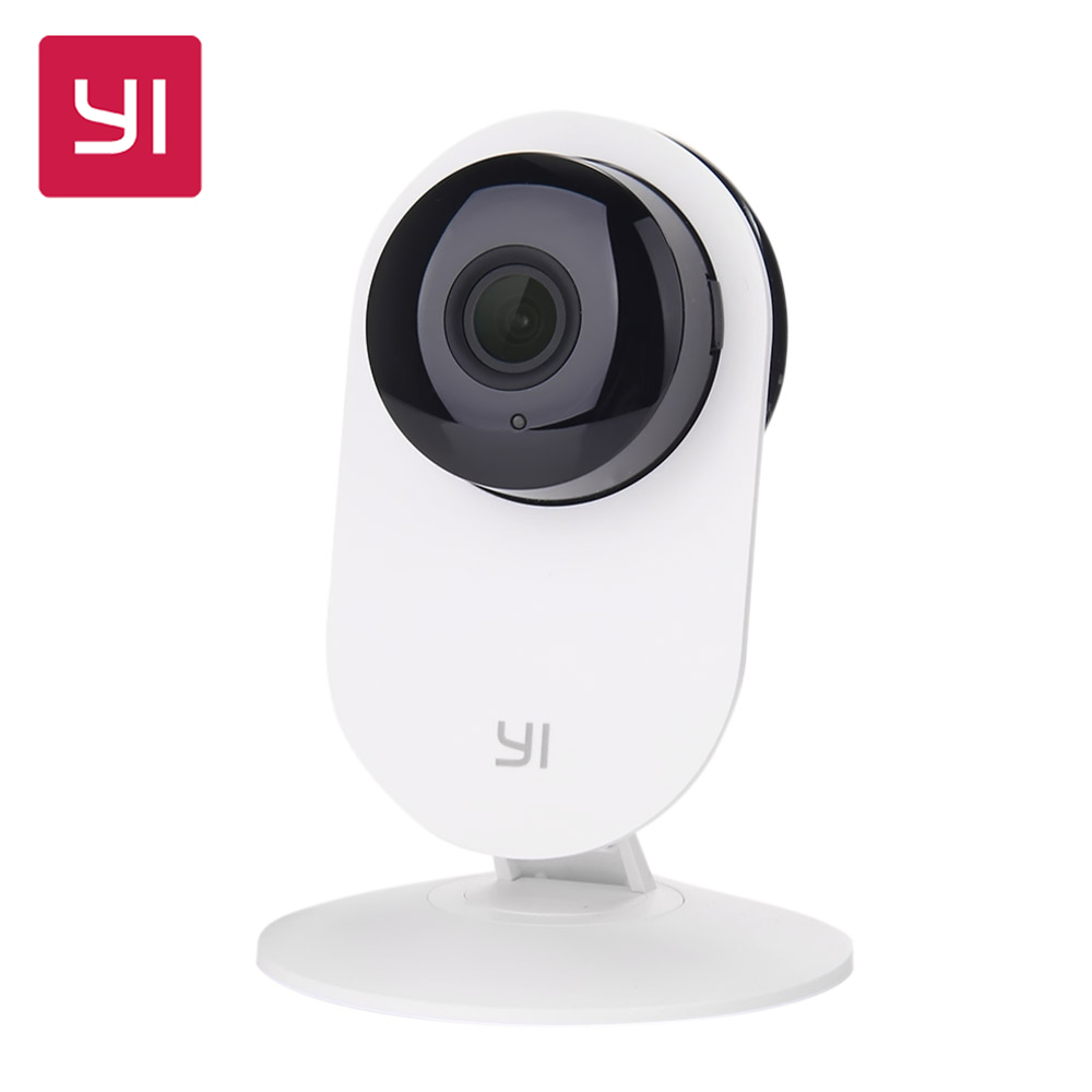 [International Edition] Xiaomi YI Home Camera 720P HD Xiaoyi IP Camera 110 Wide Angle Two-way Audio Activity Alert Smart Webcam [hk stock][official international version] xiaoyi yi 3 axis handheld gimbal stabilizer yi 4k action camera kit ambarella a9se75 sony imx377 12mp 155‎ degree 1400mah eis ldc sport camera black