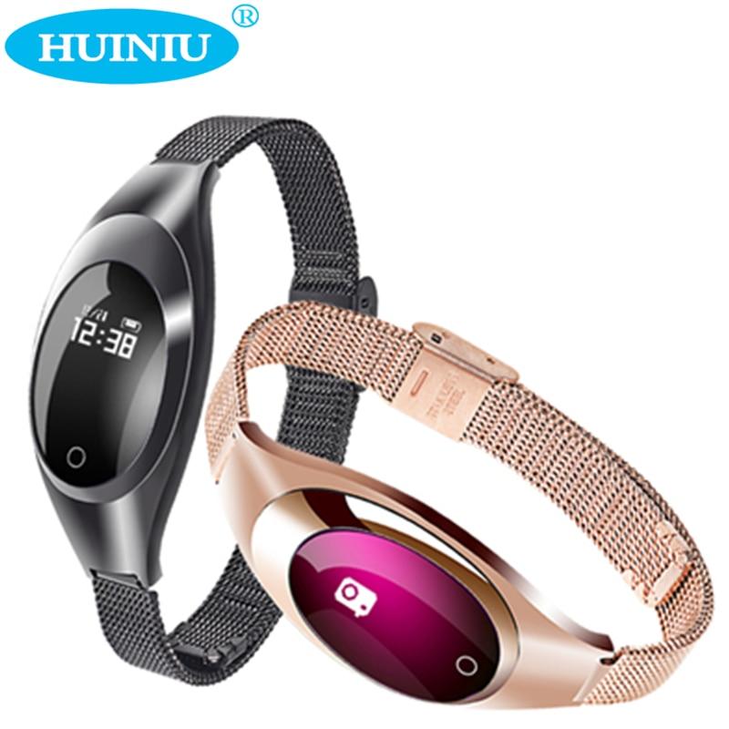 HUINIU Z18 Smart Bracelet Call Reminder Heart Rate Monitor Smartband Fitness Tracker Sport Band Wristband For