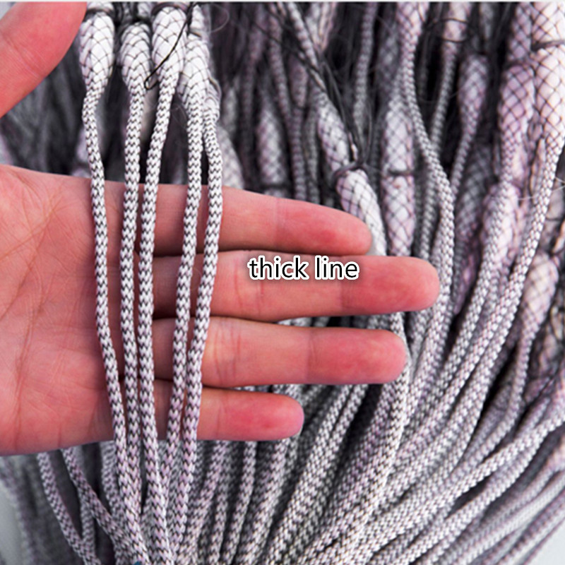 Ferramenta de Rede de Pesca Centímetros Estilo Lance Mão Tarrafa
