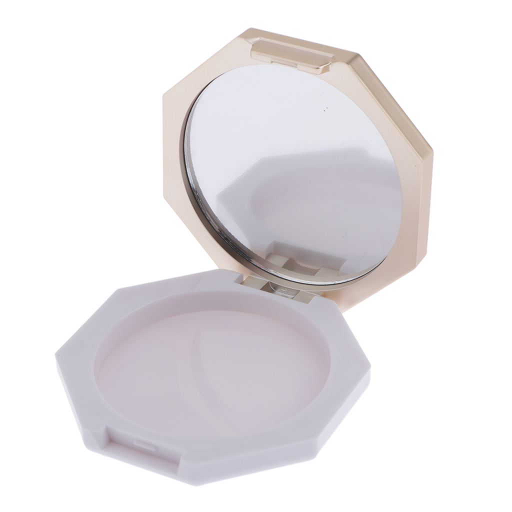 Empty Face Powder Blusher Case Box Makeup Cosmetic Jars Containers