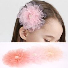 Aikelina Children Hair Ornaments Large Flowers Hairpin Little Girl Hair Card Girl baby Cute princess Fashion Headwear Jewelry