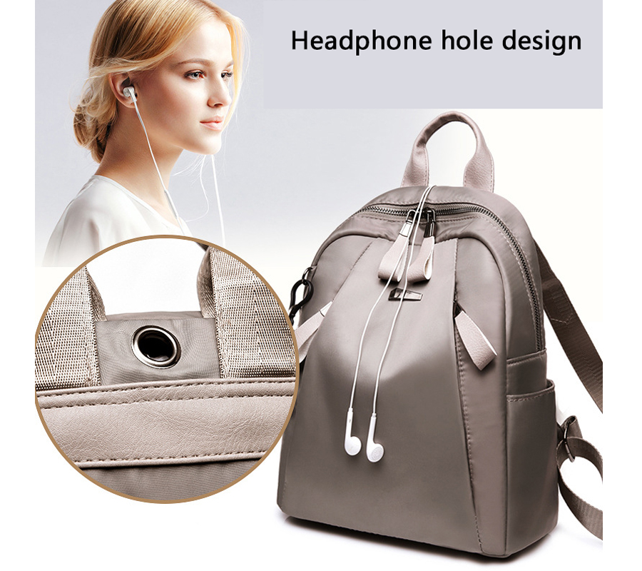 HTB1HTYkJeGSBuNjSspbq6AiipXas Mochilas mujer 2019 New Oxford cloth waterproof student bag Travel casual backpack women outdoor bag mochila feminina CL05