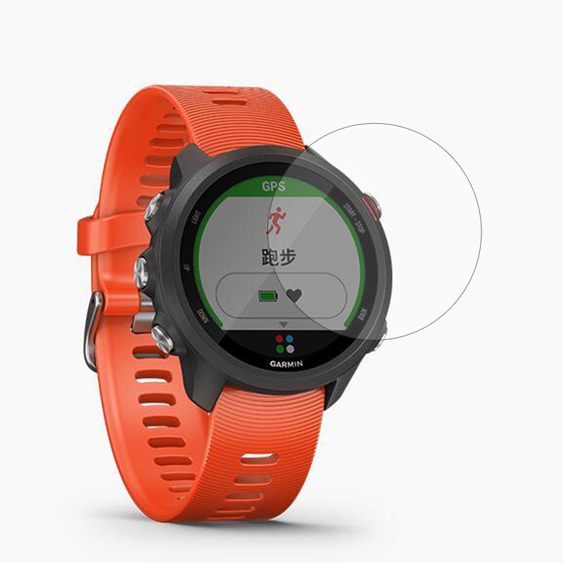 Guard Screen-Protector-Cover Smartwatch-Display Garmin Forerunner Protective-Film Tempered-Glass