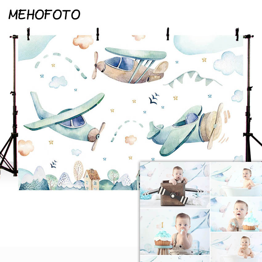 Image 4 - MEHOFOTO Newborn Baby Floral Photography Backdrops Flower Photographic Studio Photo Background Birthday Decorations PropBackground   -