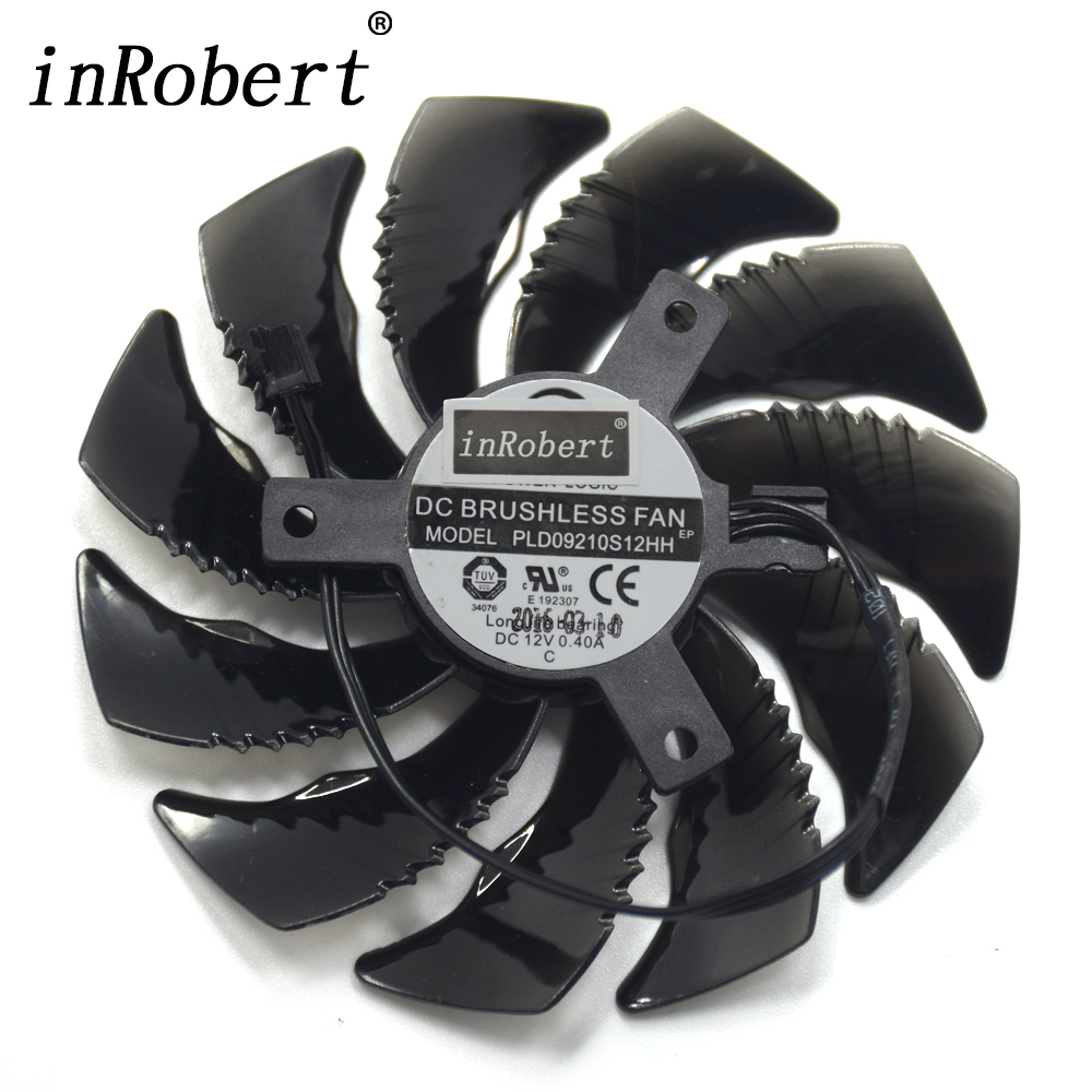 Power Logic PLD09210S12HH 87MM T129215SU For Gigabyte GTX 1050 1060 1070 mini RX 470 480 G1 Graphics Card 12V 0.40A Cooling Fan power logic pld09210s12hh 87mm cooler fan for gigabyte gtx 1050 1060 1070 rx 470 480 g1 graphics card 12v 0 40a 3pin cooling fan