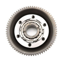 High Quality Motorcycle Engine Parts One Way Starter Clutch Gear Assy For Yamaha YBR250 YBR 250