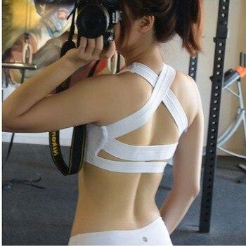 Cross Sports Bra Women Push Up Shockproof Vest Sport9s