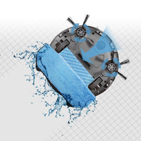 Newest 2 In 1 Wet And Dry Robot Vacuum Cleaner Washing Appliances With 700ML Dustbin 280ML