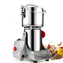 купить 700g Swing Type Mills Electric Herbal Powder Mill Dry Food Grinder Machine Ultra-high speed Intelligent Spices Cereals Crusher в интернет-магазине