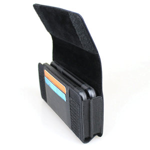 Image 4 - Dual Phone Holster for Two Phones Nylon Double Decker Belt Clip Pouch Case for 2 iPhone Xs Max Samsung Note 9 Huawei Mate 20