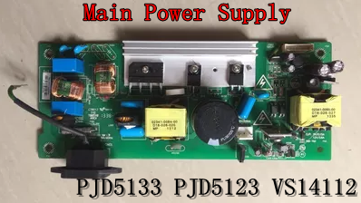 Projector Parts For ViewSonic PJD5133 /PJD5123 /VS14112 Main Power Supply(P9H37-0800-00) projector main power supply for hitacha x253 x254 rx70 rx60