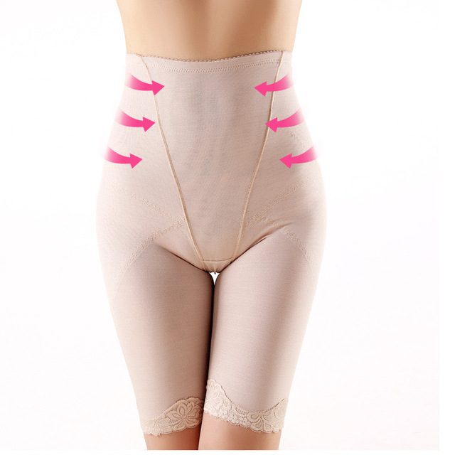 Hot sale Sexy women control panties Intimates Shapers Pelvis correction lace briefs Slimming Girdle shorts Body sculpting