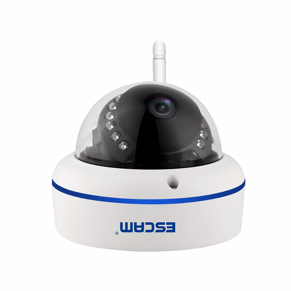 ESCAM QD800WIFI Speed WIFI 2MP 1080P WiFi Outdoor Waterproof IP IR Dome Camera IP66 Onvif P2P Night Vision Camera 4 in 1 ir high speed dome camera ahd tvi cvi cvbs 1080p output ir night vision 150m ptz dome camera with wiper