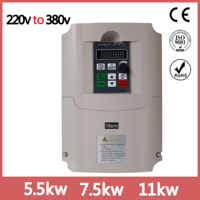 NF9100boost Frequency inverter single phase 220V converter to three phase 380v AC power transformer for motor VFD