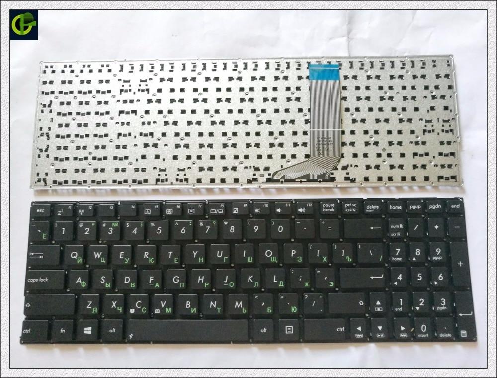 Russian Keyboard for ASUS X556 X556U X556UA X556UB OKNBO-6122US0Q X556UF X556UJ X556UQ X556UR X556UV RU Black x556u usb board for asus x556u x556uj x556ujq x556ub x556ua x555uv laptop dedicated rev 2 0 usb io board tested well