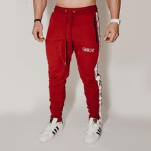 Mens fitness clothing 2019 brand mens sportswear jogger gyms exercise pants street bodybuilding