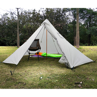 Outdoor Double Tent Ultralight 2 Person Heated Shelter for Adventurers Hiking Camping 3 Season Tent Fits 2 People