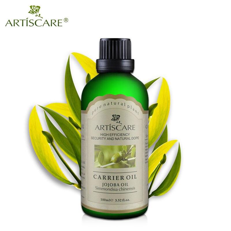 ARTISCARE 100% Naturel De Jojoba Huile De Base 100 ml pour Hydratant et Anti Rides Hydratant Visage Hydratant Huile De Massage Soins de La Peau