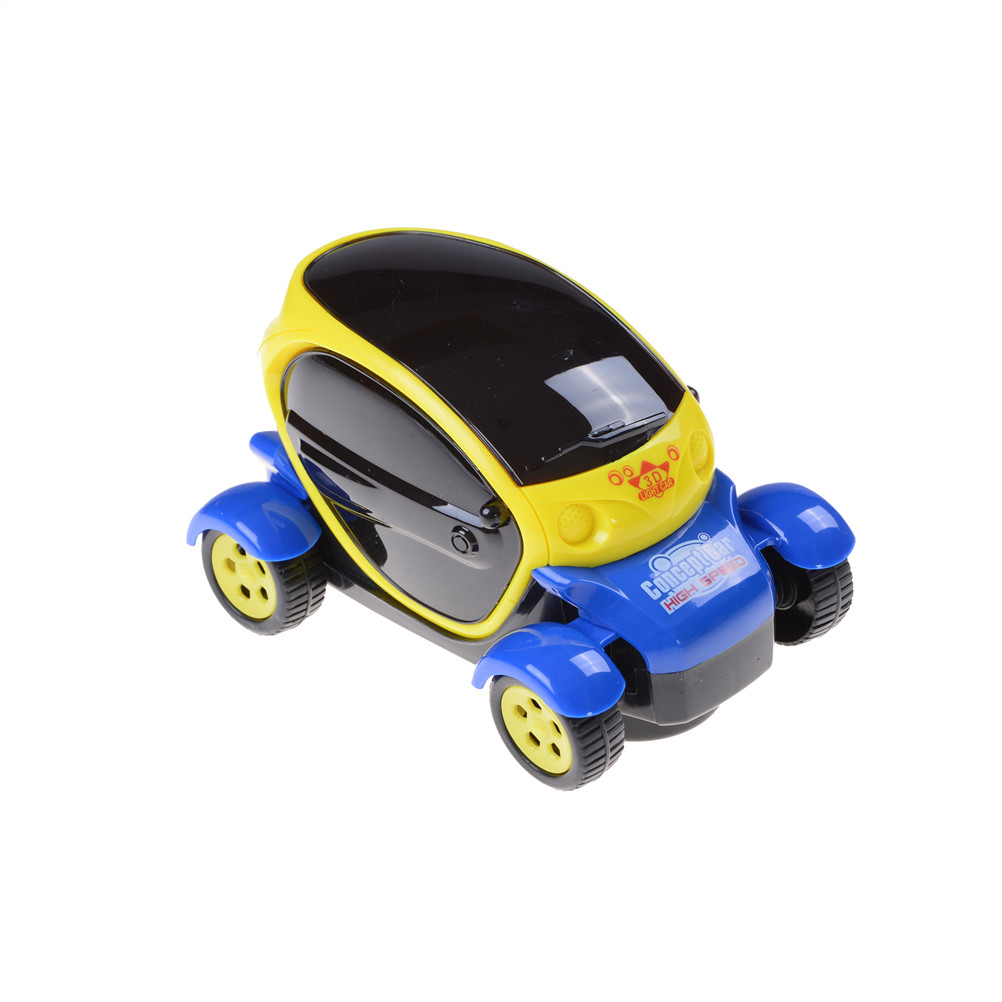 Universal 3d lighting electric toy car model children gift music concept car model electric toy car