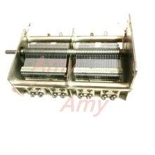 Capacité variable en céramique double 33PF 1100PF de fabrication domestique