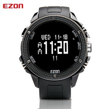 2016 Famous Brand Watches EZON H501 Outdoor Hiking Altimeter Compass Barometer Big Dial Sport Watches for Men