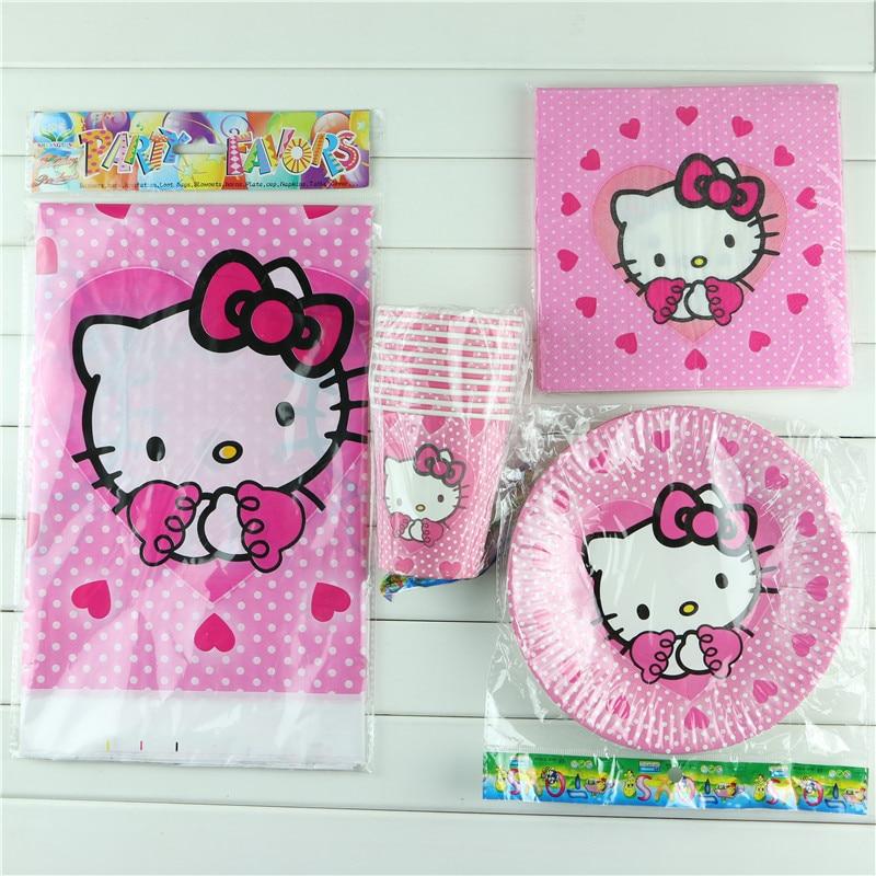 Hello kitty birthday party decoration paper cup paper for Decoration hello kitty