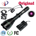 UniqueFire UF-1508-50 IR 940nm Osram Led Flashlight Infrared Light To Hunt,Tactical Flashlight+Charger+Rat Tail+Gun Mount