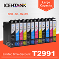 ICEHTANK совместимый для Epson T2991 T2996 29XL чернильный картридж для EPSON XP 335 235 245 247 345 432 332 245 247 442 435 принтер