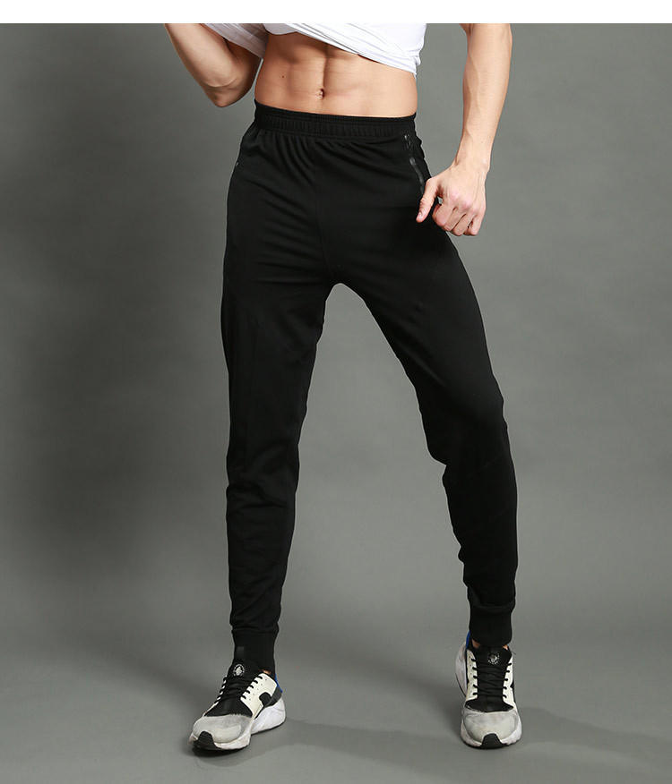 Men Running Pants Sportswear Fitness Legging Sports Football Sweatpants Gym Trousers Polyester Men Training Pants