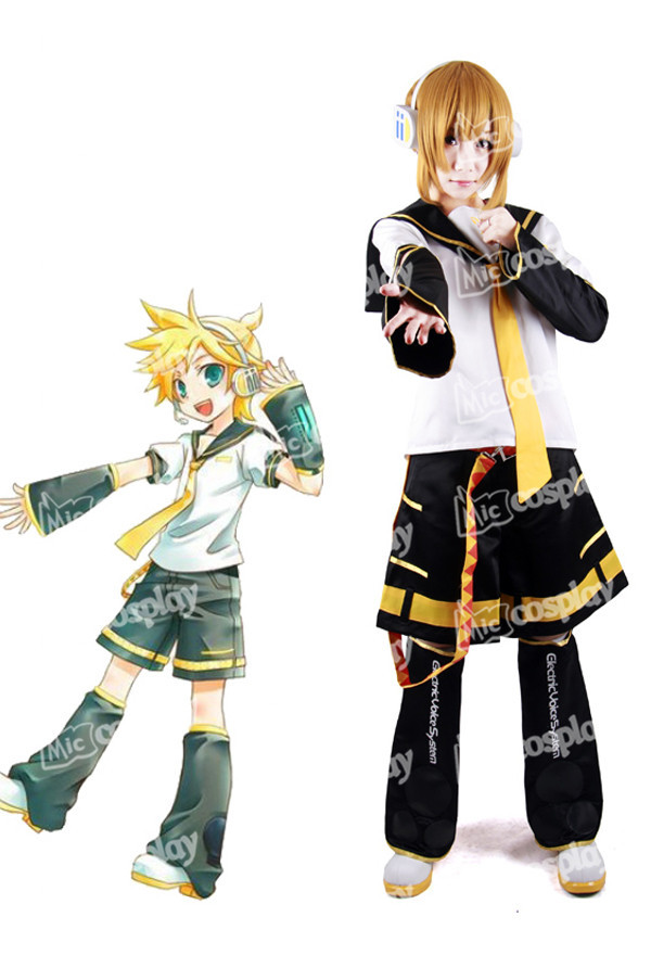 Anime New Hot Vocaloid Kagamine Len Cosplay Costume Halloween Party Clothing