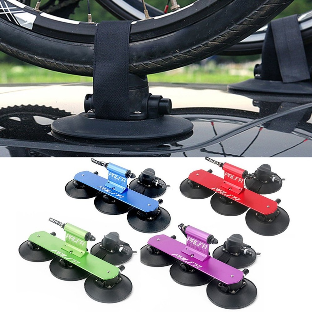 Powerful Strong Sucker Roof Top Suction Bike Car Rack