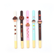 30pcs / Set gel pen cake lapices chocolate kalem Creativity caneta boligrafo canetas cute stationery material escolar 60 pcs set gel pen caneta material escolar canetas lapices kawaii caneta boligrafo cute kalem unicorn canetas em gel stylo