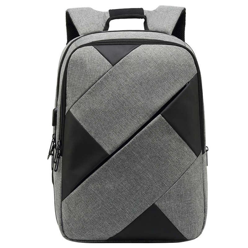 FGGS-New Contrast Color Backpack Men And Women Oxford Cloth Casual Computer Bag Outdoor Travel BackpackFGGS-New Contrast Color Backpack Men And Women Oxford Cloth Casual Computer Bag Outdoor Travel Backpack