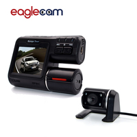 Dual Lens Car DVR Camera I1000 Full HD 1080P 2 0 LCD Dash Cam Rear View