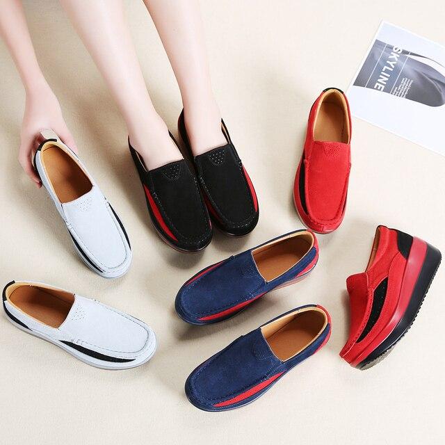 STQ 2020 الخريف النساء أحذية 6