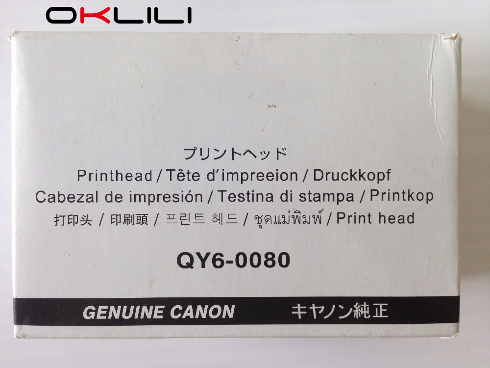 ORIGINAL QY6 0080 Printhead Print Head font b Printer b font for Canon iP4820 iP4850 iX6520