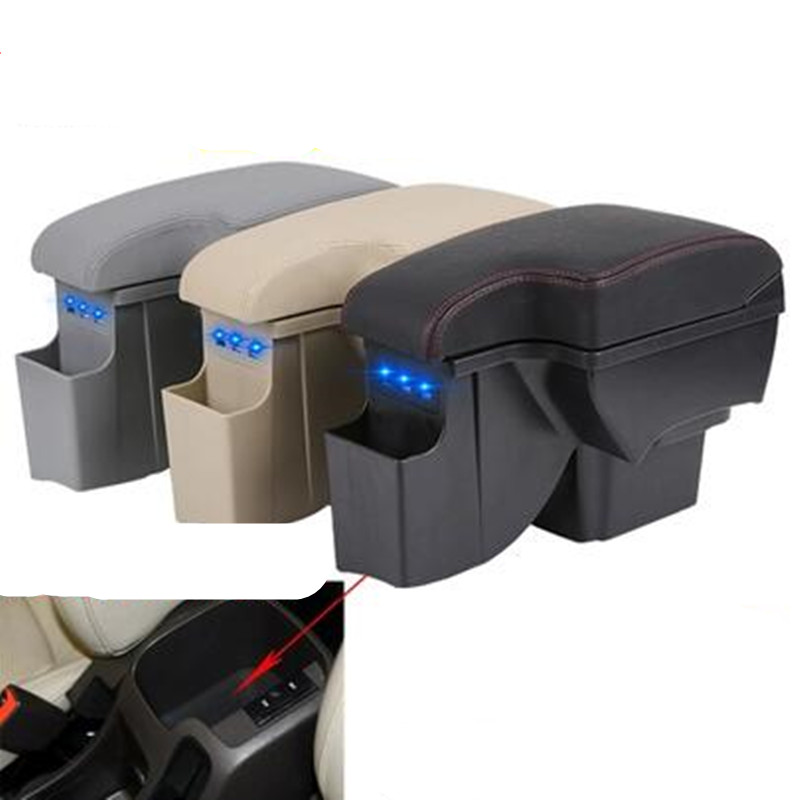 for Chevrolet Cruze armrest box Chevrolet Cruze 2009-2014 Universal Central Storage Box modification accessories