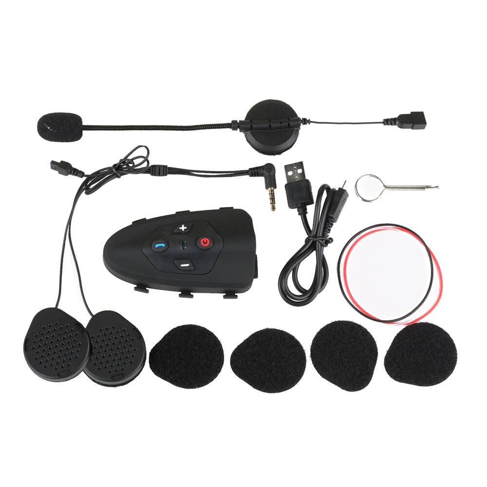 EJEAS Adler Bluetooth Fahrrad Helm Intercom Headset 200hrs Standby Helm Boomed Mikrofon für 2 Fahrer (Dual Pack) - 4