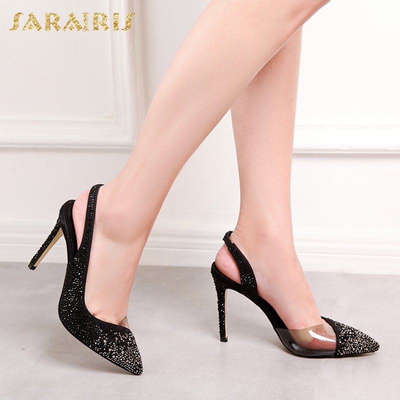 SARAIRIS Ins Pointed Toe Sexy Thin High Heels Elegant Lady womens Pumps new hot sale Ins Style womens ShoesSARAIRIS Ins Pointed Toe Sexy Thin High Heels Elegant Lady womens Pumps new hot sale Ins Style womens Shoes