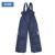 Moomin macacão de inverno para meninos 2015 moda sólidos calças de algodão inverno meninos azul escuro solto zipper fly calças para o inverno