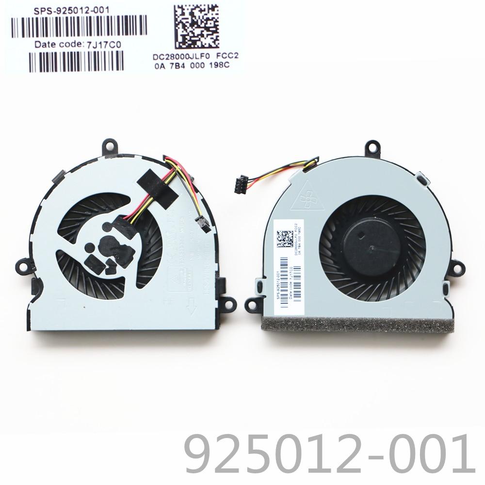New Cpu Fan For HP 15-bs085nr 15-bs087nr 15-bs077nr 15-bs078nr Laptop CPU Cooling Fan 925012-001