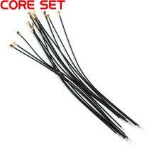 10 шт. черный IPX IPEX u. fl женский 1,13 мм соединительный кабель с одной головкой разъем адаптера 15 см IPX 1,13 Кабель