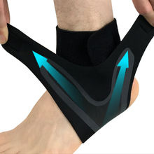 Foot Bandage Ankle Support Strap Sleeve Running Cycling Gym Protection Breathable Adjustment Fitness Brace