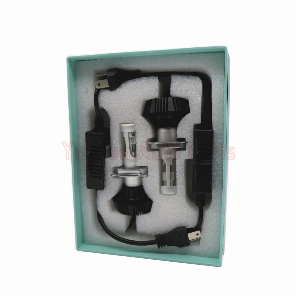 2PCS Plug&Play Led 12V H4 6s Car Headlight Bulb For Philips lamp beads Cold White 6000K-6200K HI/LO Conversion Kit мультиварка philips hd4731 03 white