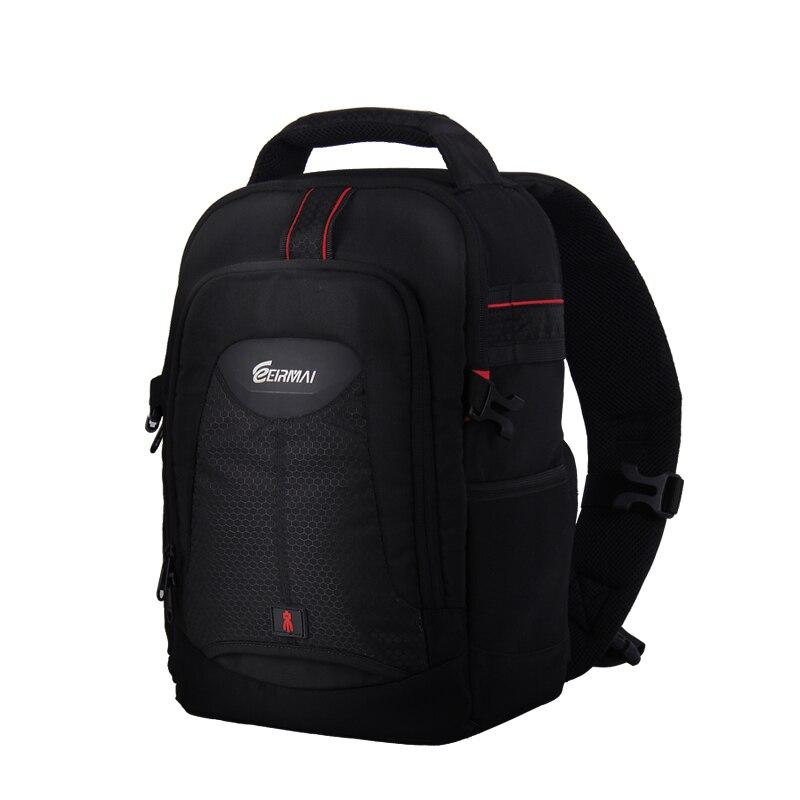 Eirmai SLR camera bag Shoulder Messenger camera bag for Canon SLR backpack 60D70D for Nikon D750 D810 профессиональная цифровая slr камера nikon d3200 18 55mmvr