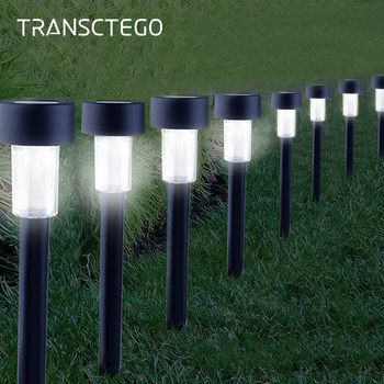 hot solar powered power led square white light for fence post pool garden yard pathway outdoor christmas decor 10 PCS LED Solar Light Outdoor Waterproof Garden Lamp For Pathway Landscape Lawn Decor Yard Night Lighting Solar Powered Lights