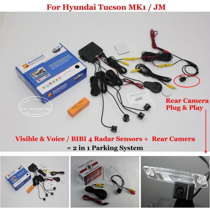 Hyundai Tucson MK1 JM parking system