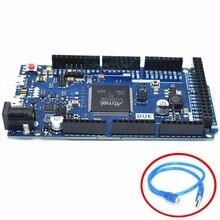 Due 2012 R3 ARM 버전 메인 컨트롤 보드 ATSAM3X8E ARM 메인 컨트롤 보드 (usb 케이블 포함)